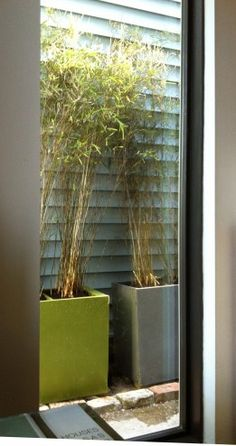 Upcycled File Cabinet Bamboo Planters.This is a great idea.  Filing Cabinets turned into planters.  I want to put a few of the four drawer ones at the back of my yard and grow a screen of bamboo.
