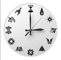 EXO clock, i just wanna say its Kai o'clock (kai in moari means food)
