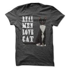 Spiffy pet T shirts...  Real Men Love Cat