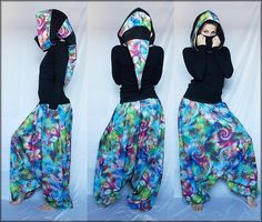 """""""Ocean of Life"""" Collection  #goa #fashion #harempants #psychedelic"""