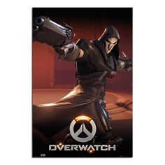 Overwatch Reaper Poster   iPosters