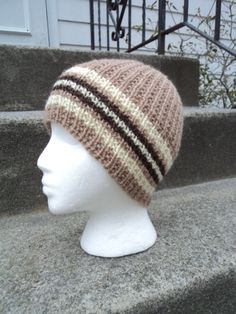 Men's Knit Beanie Wool Childs Beanie Teen Boy by WendysWonders127, $30.00