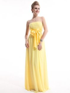 Might be an evening dress, but definitely a great idea for a strapless sundress.