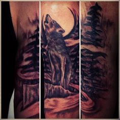1000+ images about Tattoos on Pinterest | Wolf tattoos ...
