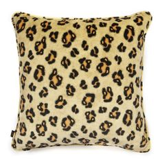 LEONINE Large Velvet Cushion