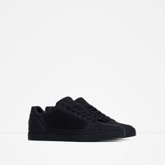 Image 2 of SINGLE COLOR TECHNICAL SNEAKERS from Zara