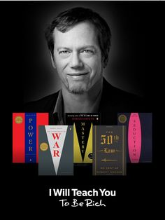 Learn about mastery, power, and seduction from expert @RobertGreene in this #giveaway of his works.