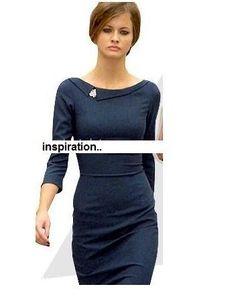 headmistress pencil shape dress custom made all by heartmycloset, $91.00