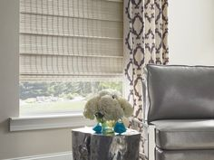 Hunter Douglas Woven Wood Shades Are Handcrafted From Light Filtering Gres Reeds Bamboo And Woods For A Warm Natural Look At The Window