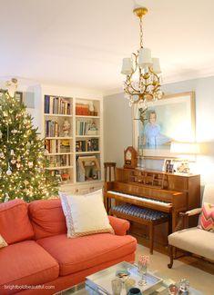 the most beautiful Holiday Home Tour brightboldbeautiful.com