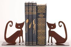Kitty Cat Bookends
