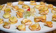 Casadinho de batata doce recheado com pernil e abacaxi caramelizado - Captains Buffet. #wedding #casarnapraia #casarembuzios #buffet #buzios