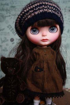 Honoré Custom Blythe Doll http://umamibaby.bigcartel.com/product/honore-ooak-custom-blythe