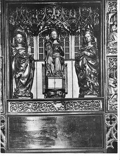 Pruska (Elbląska) Madonna Szafkowa in situ - przed 1945