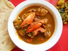 crab curry !   looks a little complex but i would love to try...