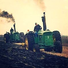 JOHN DEERE 6030's.     I WANT THIS SO SO BAD BUT MAYBE 4020