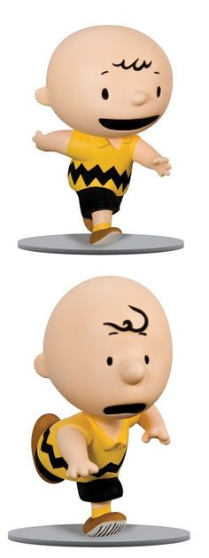 Peanuts: Charlie Brown then & now.