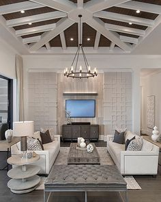Another angle of this impressive space we featured last week. By Pizzazz Interiors