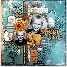 "Di's Creative Space: Part Two of My September DT Reveal For2Crafty Chipboard""Sweet Cheeks"""