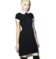 In disguise or not as the Adams Family with this Tripp NYC Tuesday Dress
