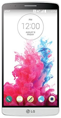 LG G3, Silk White 32GB (AT&T) | Your #1 Source for Mobile Phones, MP3 Players & Accessories