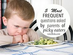 What do you do when your child is a picky eater?