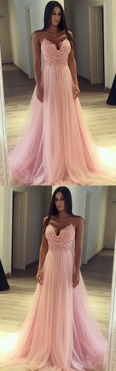 Prom Dress with Thin Straps, Back To School Dresses, Prom Dresses For Teens, Graduation Party Dresses , M1285 #dressesforteens
