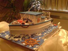 Fishing boat  Cake by PaulDelaney