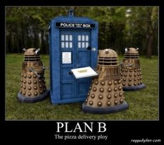 dalek pizza delivery Doctor Who