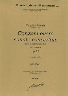 Canzoni overo sonate concertate per chiesa e camera op. 12 (Venezia, 1637)