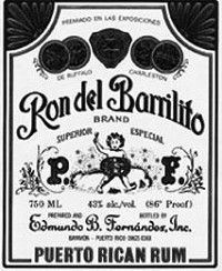 Ron del Barrilito. Best Puerto Rican Rum ever.