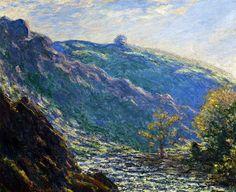 Ravine of the Petit Creuse - Claude Monet 1889