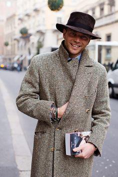 On the Street…Luca Rubinacci, Milan