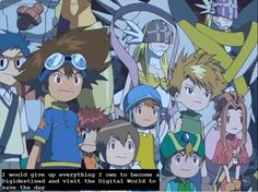 Another Digimon Confession. Yes so true if I were to go to the Digital World I have Gatomon as my partner.