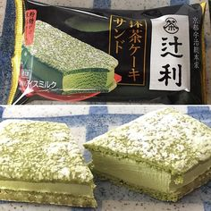 This matcha ice cream cake was made with Uji matcha of Tsujiri this had a quite strong matcha flavor!  I enjoyed it #sweets #dessert #dolce #icecream #gelato #greentea #matchadessert #冰淇淋 #抹茶 #matcha #greentea #teaaddict #instea #instasweet #sweetsoftheday