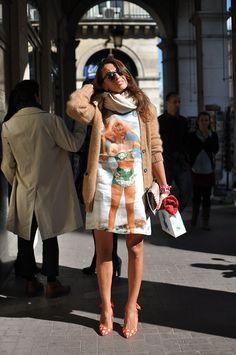 Viviana Volpicella, Paris Fashion Week