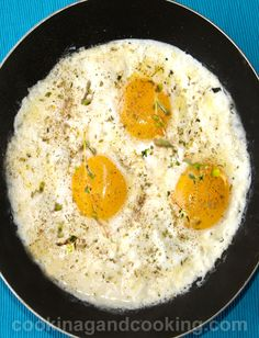 Sunny Side Up and Feta Cheese Recipe