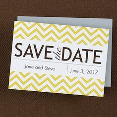 Pop of color with your save the date!