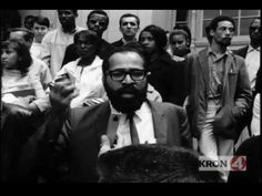 Pt. 2: HUEY P NEWTON & BOBBY SEALE BEAT THE HELL OUT OF A RACIST WHITE G...