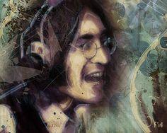John Lennon Tribute- Don't Let Me Down ~ David Finley