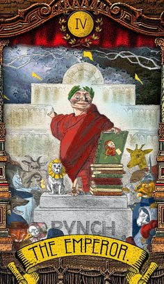 The Tarot of Mister Punch -  If you love Tarot, visit me at www.WhiteRabbitTarot.com