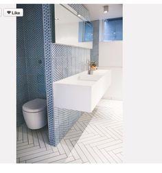 Nice bathroom floor / Ciekawa podłoga do łazienki