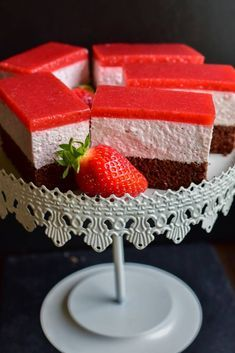 Sweet Desserts, Easy Desserts, Sweets Recipes, Cookie Recipes, Lucky Cake, Food Cakes, Sweet Cakes, Mini Cakes, Yummy Cakes