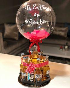 Balloon Gift, Balloon Garland, Balloons, Food Gifts, Diy Gifts, Best Gifts, Gift Box For Men, Magic Day, Balloon Arrangements