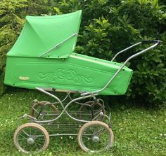 Retro kočárek Liberta - 1 Vintage Pram, Prams And Pushchairs, Business Baby, Baby Carriage, Wheelbarrow, Baby Strollers, Dolls, History, Children