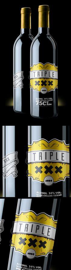 Wine Labels PD - Triple ___© ilas 2013 - Studente Giorgio Potenza