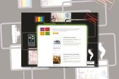 White Smoke Media. Website en logo ontwerp