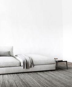Sofa Richard -B&B Italia - Design of Antonio Citterio B&b Italia Sofa, Contemporary Design, Modern Design, Pewter Paint, Milan Hotel, Oriental Hotel, Seat Available, Italia Design, Small Tables