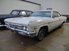 The owner of this 1966 Chevrolet Impala SS parked it in a garage 15-years-ago. Would you like to revive it and return it to its former glory? #Chevrolet, #ImpalaSS