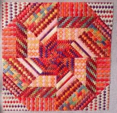 Edibles -- Needle Delights Cherry Cordial ( Molten Lava version), charted needlepoint